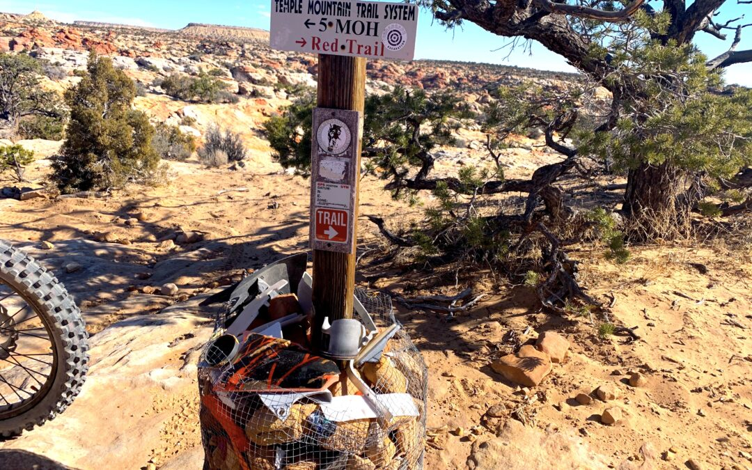Red Trail Review – Temple Mountain Trail System