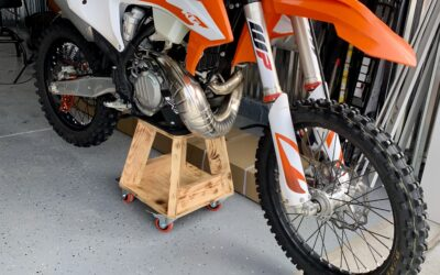 How to change your oil on your dirt bike without taking off the skid plate