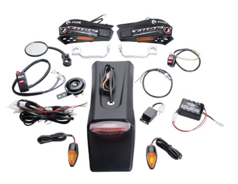 Street legal dirt bike light kit