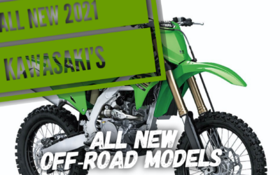 ALL NEW 2021 Kawasaki KX Offroad Dirt Bikes