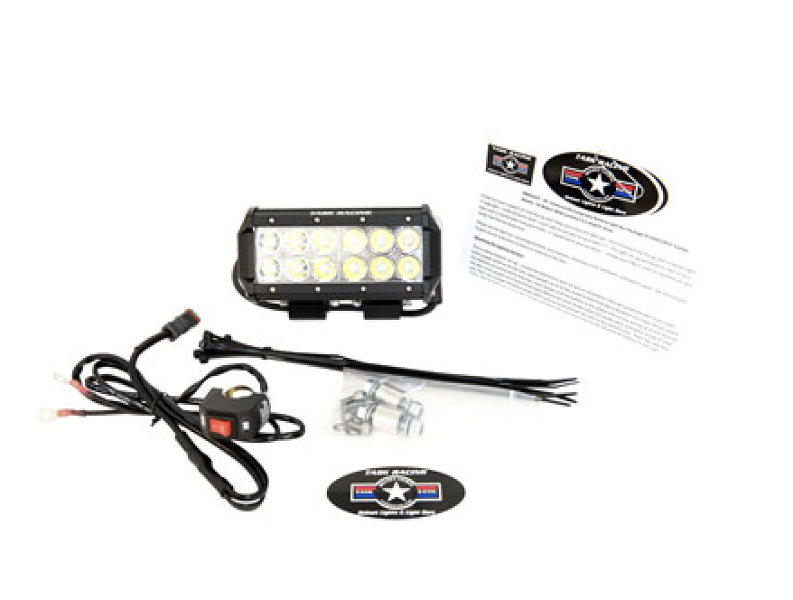 hardwire LED light bar for dirt biking