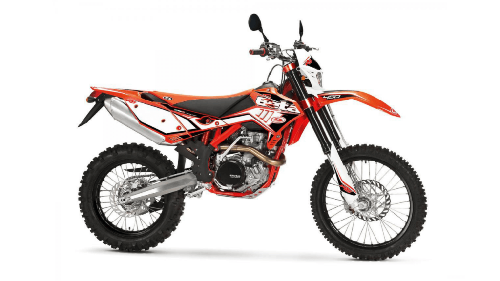 Beta 450RS, the fastest medium-weight dirt bike in the world.