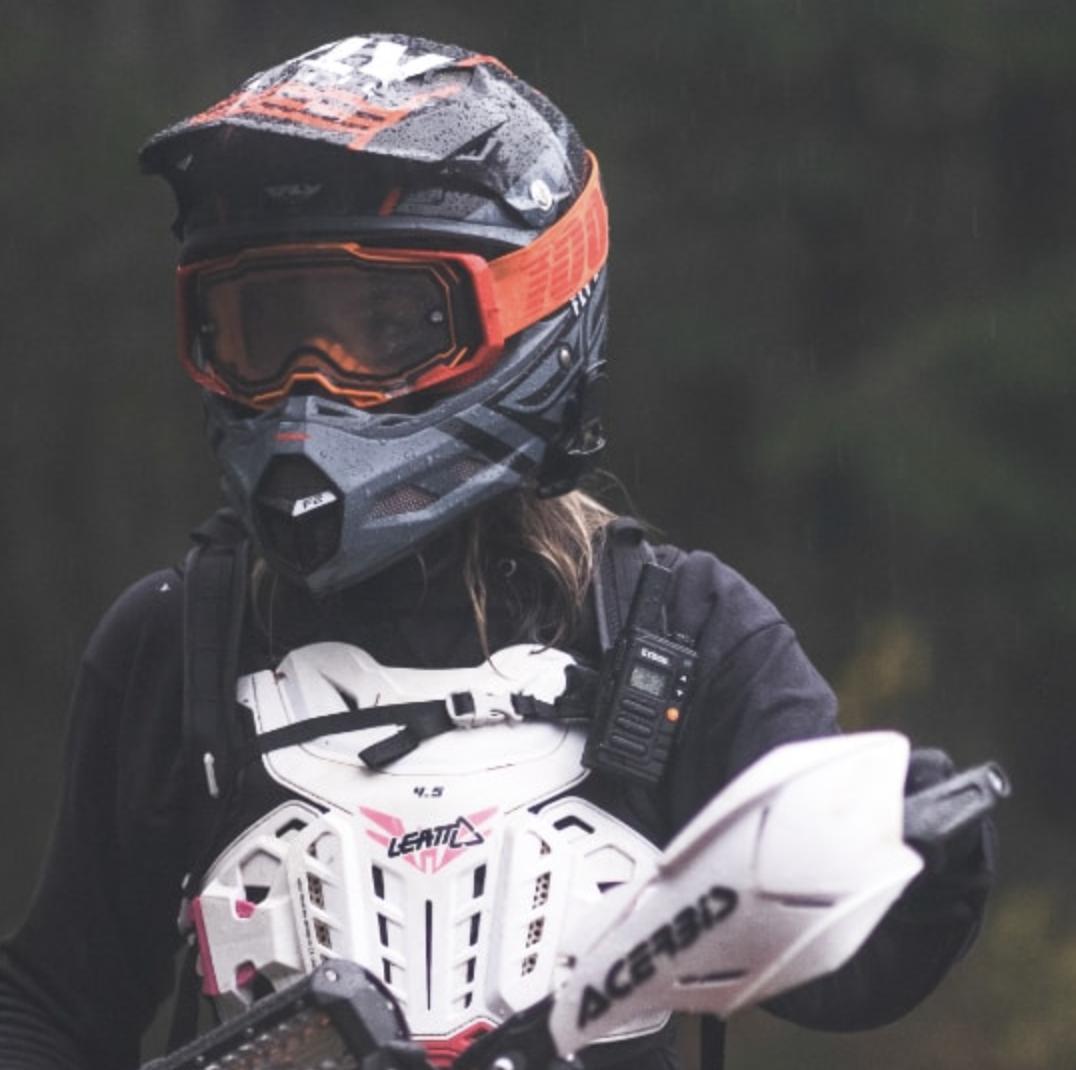Dirt bike radio