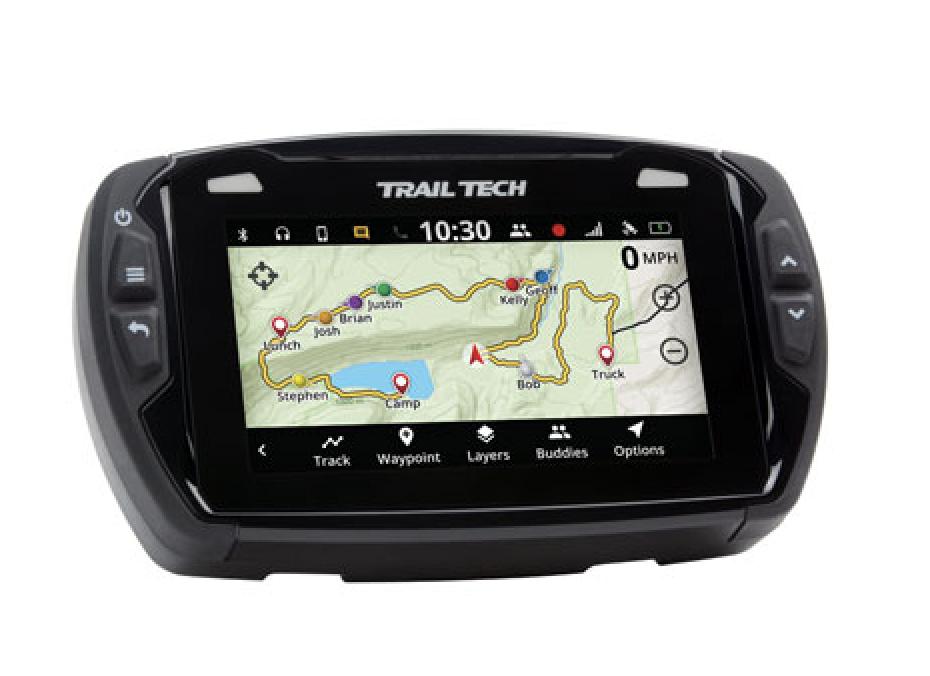 Dirt bike GPS