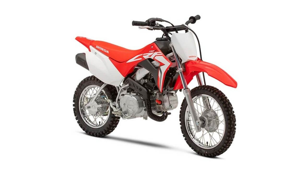 HONDA CRF110, the best kids trail dirt bike